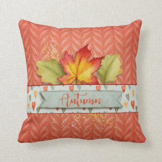 """Fall - Pretty Watercolor Shades of """"Autumn"""" Cushion"""