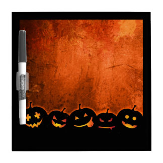Fall Pumpkin Dry Erase Board