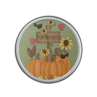 Fall Pumpkin Patch with Birds Speaker