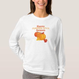 Fall Pumpkin Spice Basic Long Sleeve T-Shirt
