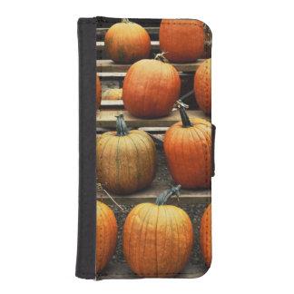 Fall pumpkins phone wallets
