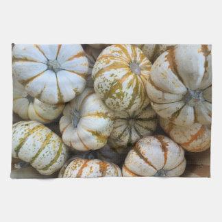 Fall Pumpkins Tea Towel