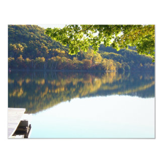 Fall Reflections 11 Cm X 14 Cm Invitation Card