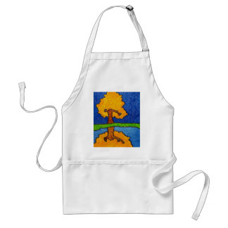 Fall Reflections Adult Apron