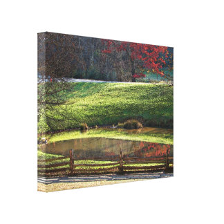 Fall Reflections canvas