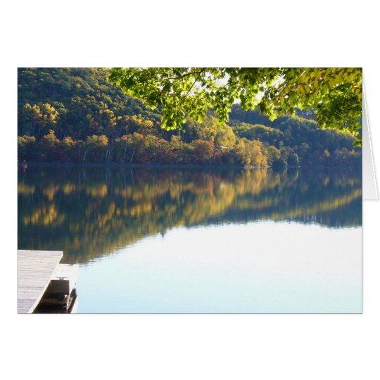 Fall Reflections Card