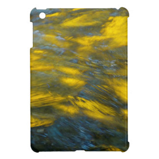 Fall Reflections in Gray and Yellow iPad Mini Covers