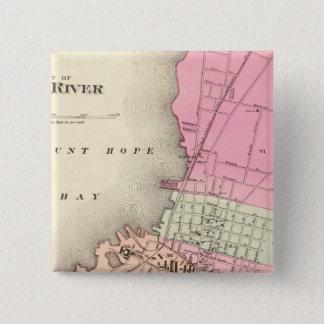 Fall River 15 Cm Square Badge