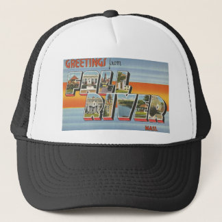 Fall River, MA Trucker Hat