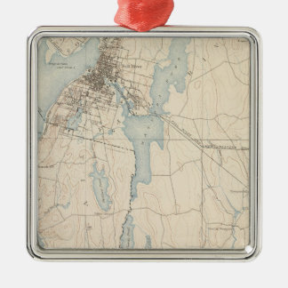 Fall River, Massachusetts Christmas Ornament