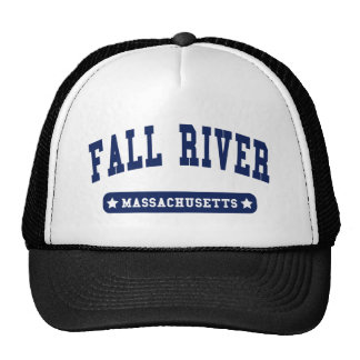 Fall River Massachusetts College Style tee shirts Cap