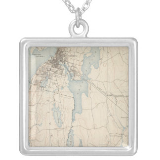 Fall River, Massachusetts Silver Plated Necklace
