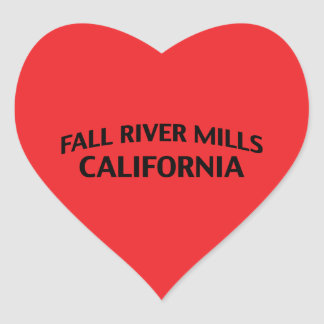 Fall River Mills California Sticker