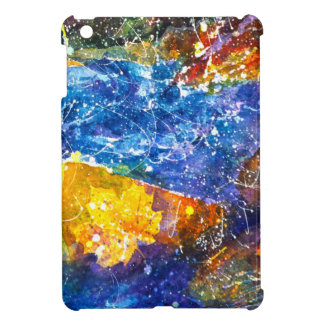 Fall River watercolor iPad case