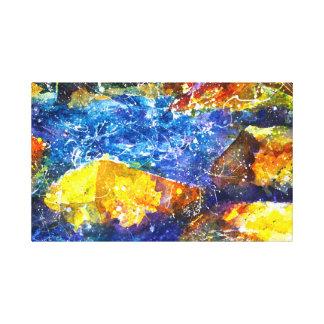 Fall River watercolor print