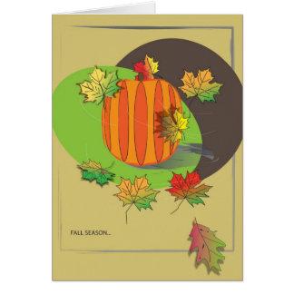 Fall Season Card