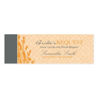 Fall Sophisticate Skinny Business Card