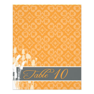 Fall Sophisticate Table Card 2 Flyer