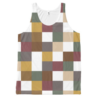 Fall Spice All-Over Print Tank Top