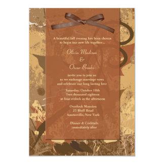 Fall Splendor Invitation
