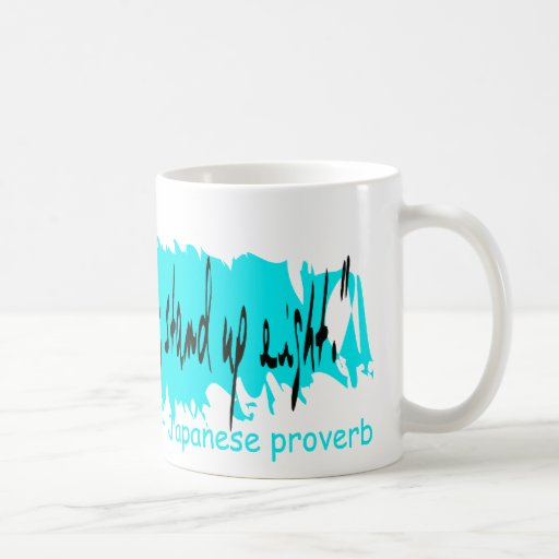 FALL STAND PROVERB cafe press Mugs