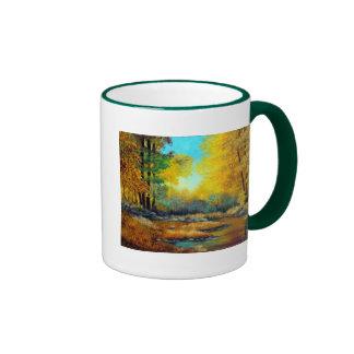 Fall Stream Ringer Mug