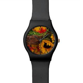 Fall Sunflowers Watch