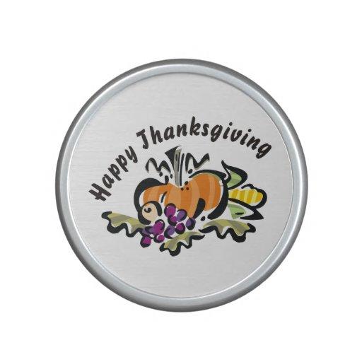 Fall Thanksgiving Harvest Bluetooth Speaker