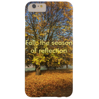 Fall, the season of reflection barely there iPhone 6 plus case