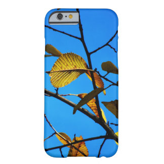 Fall-Themed Case - Yellow Leaves & Sky