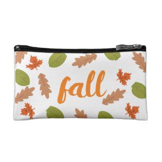 Fall Themed Cosmetic Bag