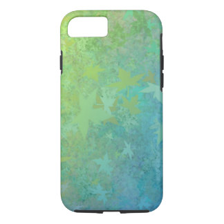 Fall to Winter Blowing Leaves iPhone Case
