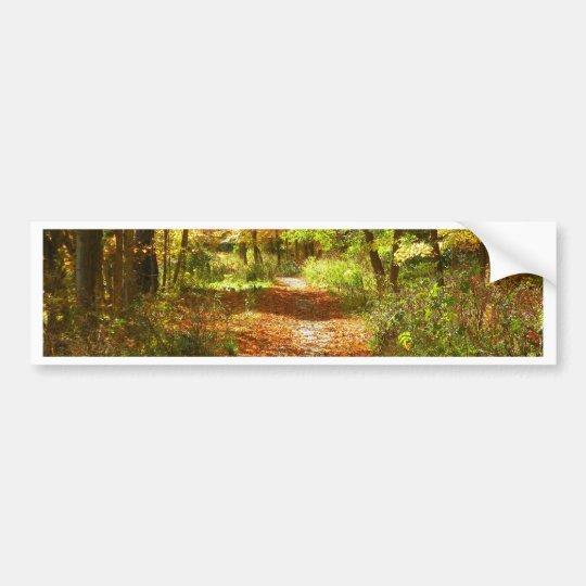 Fall Trail Bumper Sticker