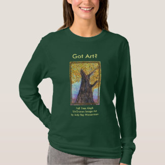 Fall Tree Aleph Ladies & teens T-Shirt