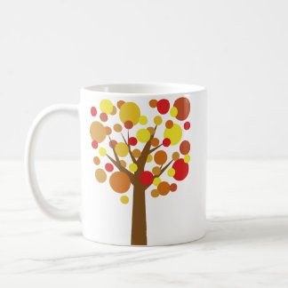 Fall Tree Basic White Mug