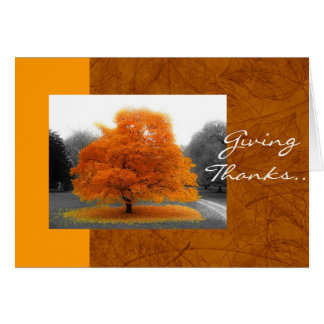 Fall Tree Card