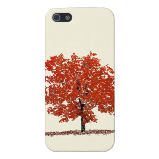 Fall Tree Case Cover For iPhone 5