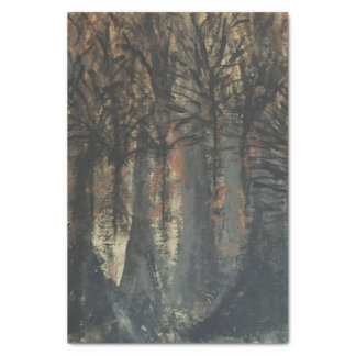 Fall Tree Painting Tissue Paper