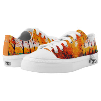 Fall Trees Autumn Low Tops