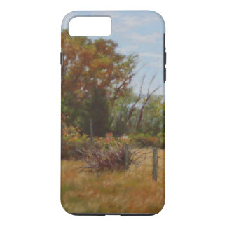 Fall Trees Fence iPhone 8 Plus/7 Plus Case