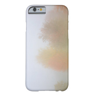 Fall trees shrouded in mist barely there iPhone 6 case