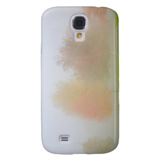 Fall trees shrouded in mist galaxy s4 case