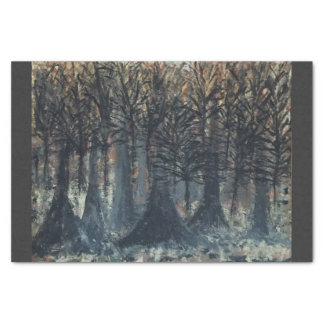 Fall Trees Tissue Paper