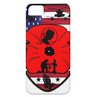 fall US of heroes patch iPhone 5 Cases