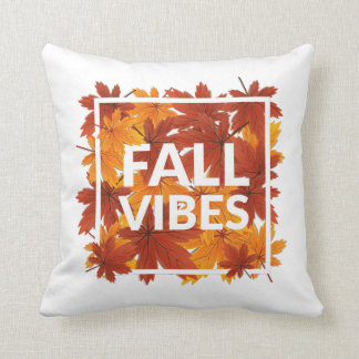 Fall Vibes Pillow