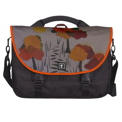 """Fall Walk In The Woods"" Commuter Bags"