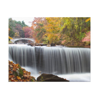 Fall Waterfall Canvas Print
