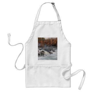 Fall waterfall standard apron