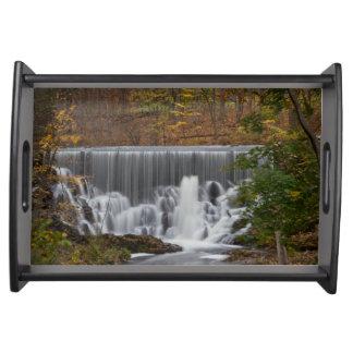 Fall Waterfall Food Trays