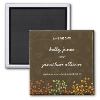 Fall Wedding :: Save the Date  Magnets